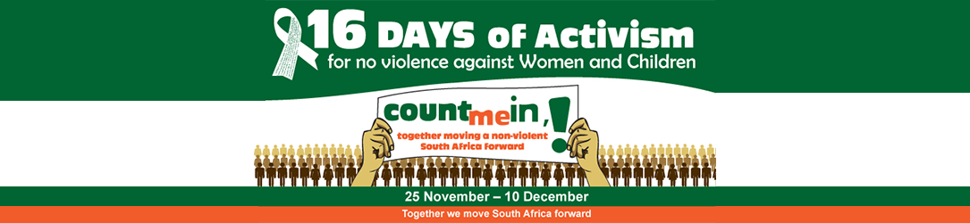 A message from our Mayor regarding 16 Days of Activism for no violence against Women and Children