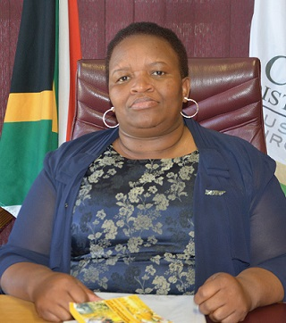 Executive Mayor Kholiswa Vimbayo