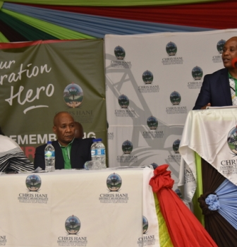 CHRIS HANI AND O.R. TAMBO HAILED AS STRUGGLE HEROES