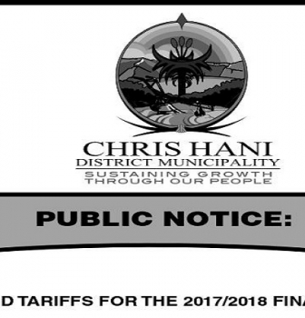 APPROVED WATER AND SANITATION TARIFFS FOR THE 2017/2018 FINANCIAL YEAR